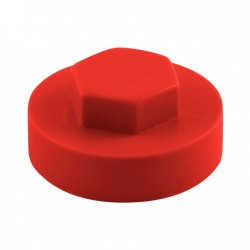 16mm Poppy Red Hex Head...