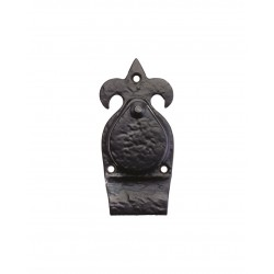 "Black Antique 5"" Cylinder Pull"