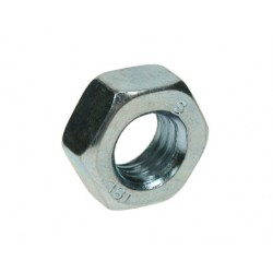 M6 Hex Full Nuts - Zinc Plated