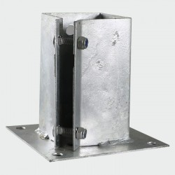 100mm x 100mm Galvanised...